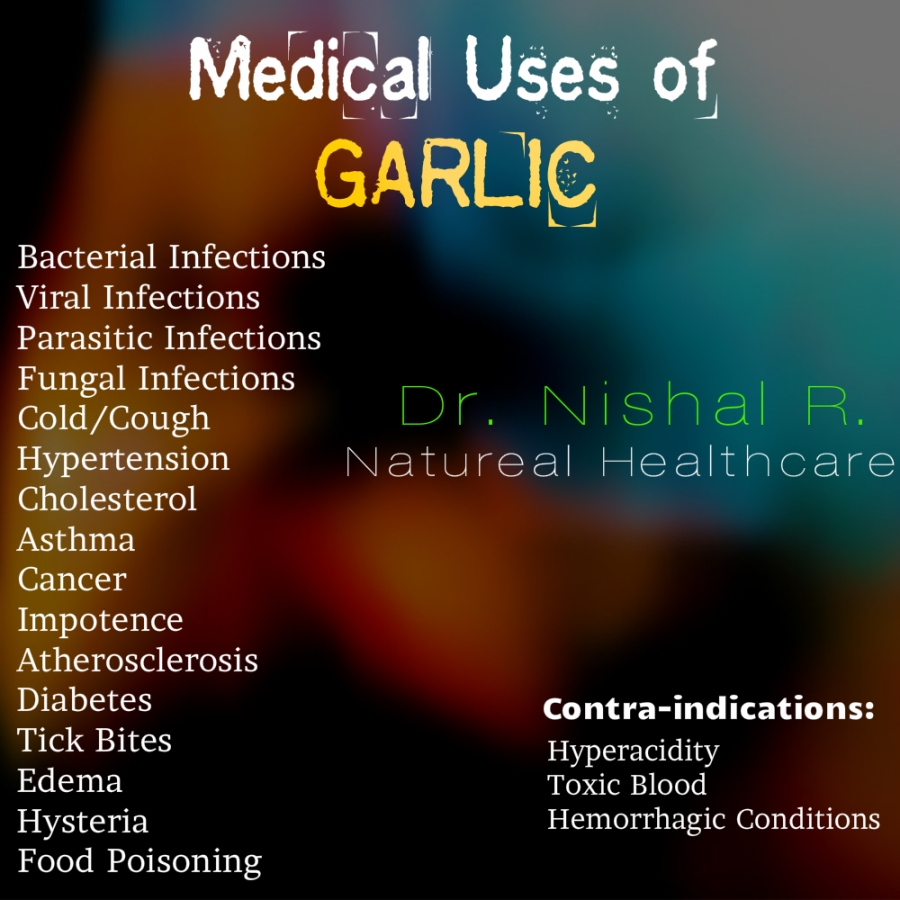 Drug of the day - Garlic (Allium Sativum)
