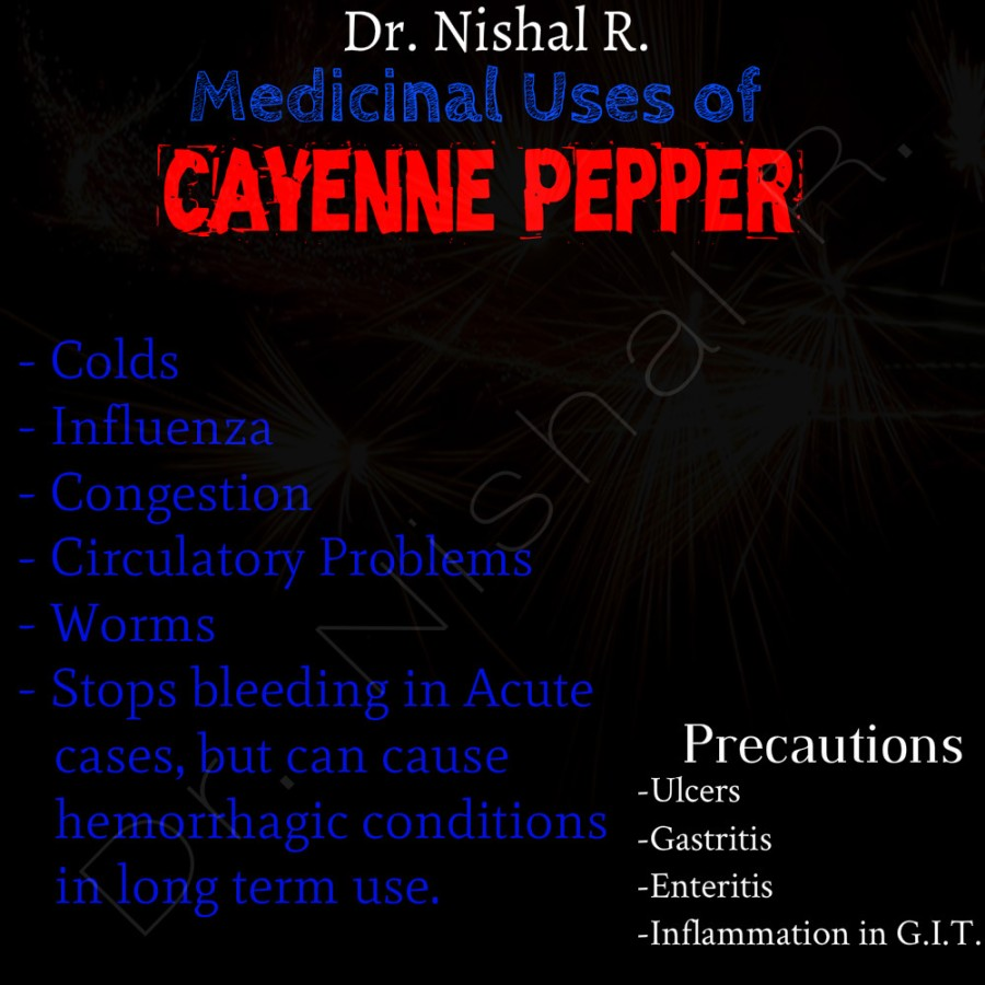 Drug Of The Day - Cayenne Pepper