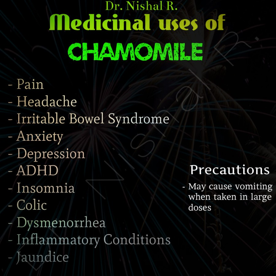 Drug Of The Day: Chamomile