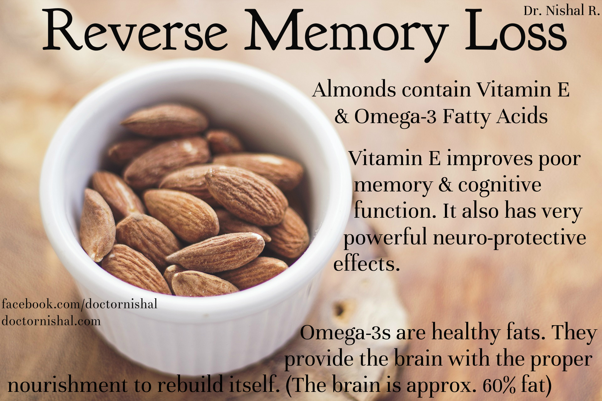 how to eat almonds for memory