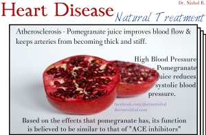 pomegranate - heart disease